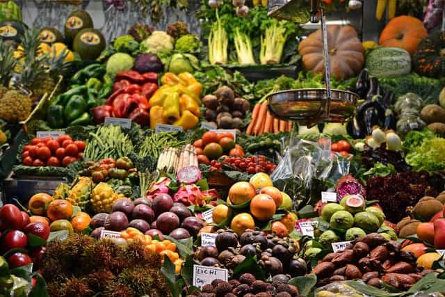 alimentos vegetales base de la dieta flexitariana-